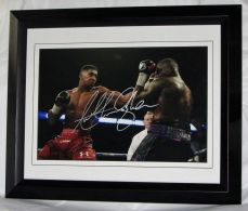 A879AJ ANTHONY JOSHUA AUTHENTIC SIGNED